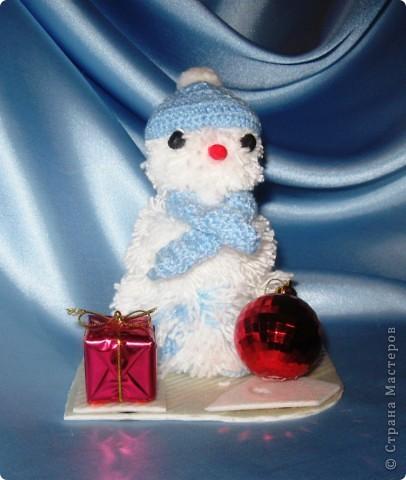 Волшебный  снеговик (Гражданцев Тимур, 4А класс МОУ МСОШ №1, с.Михайловское, Алтайский край)