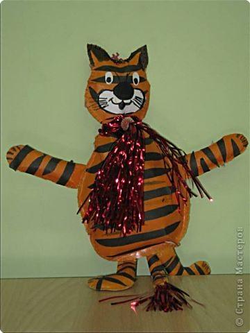 Весёлый тигрёнок