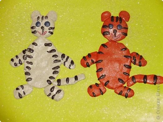 Веселые тигрята