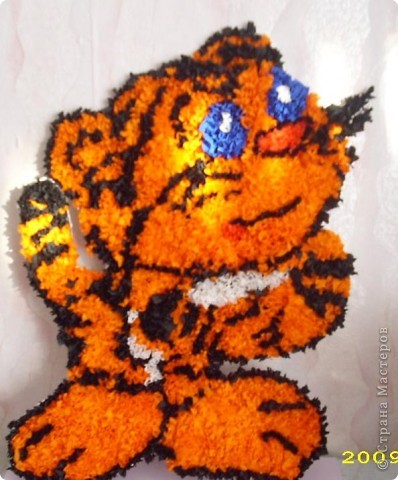 Голубоглазый тигрёнок фото 3