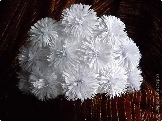 Снежный веер и корона - украшение сезона. фото 3