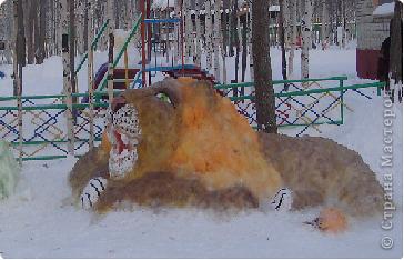 Снежный зоопарк