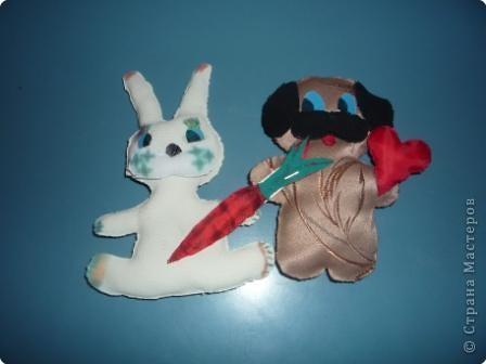 Заяц Беляк и Бусик.