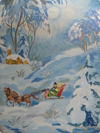 Зима поет аукает, мохнатый лес баюкает стозвоном сосняка...