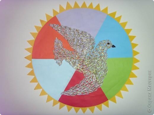 Наша ГОЛУБКА-символ мира, добра и творчества.