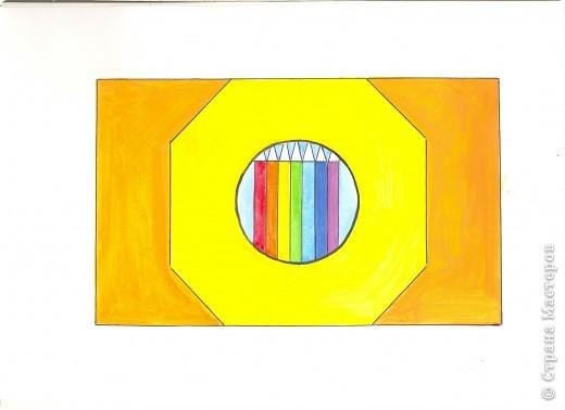 Загадка Картины любим создавать Ещё чертить и рисовать Потом раскрашиваем сами Разноцветными носами (карандаши).
