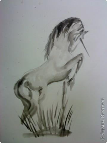 Единорог удачи...Его копыто принесет идею, хвост  и густая грива помогут воплотить в жизнь, а сам волшебный рог принесет удачу)))