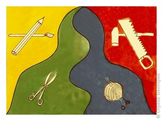 Флаг Страны Мастеров. Петлина Александра.
