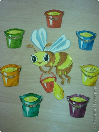 Трудолюбивая пчёлка (эмблема)