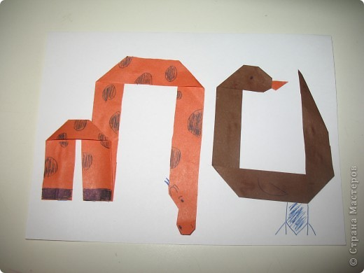 Моя монограмма (ПЦ). Шрифт в форме животных. фото 1