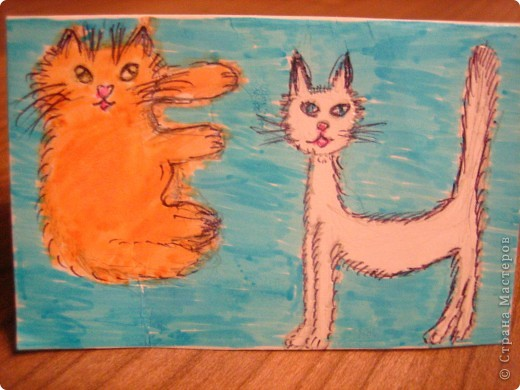 Моя монограмма. буквы Е и Н. буква Е - моя кошка МарусЕчка буква Н - моя кошка ЛиНдочка фото 1