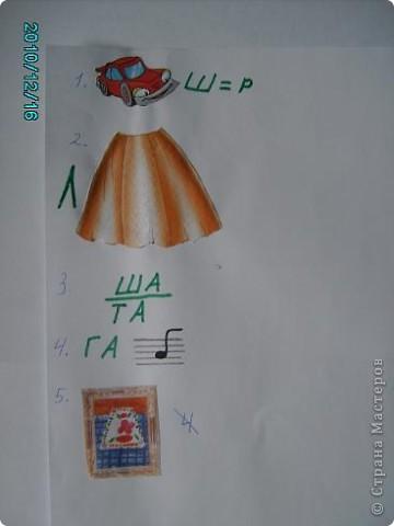 1.Это моя монограмма.Мой любимый цвет голубой,а фигуру я выбрала пятиугольник,потомучто нас всемье пятеро:папа,мама, я,брат Егор и хомяк Кузя. фото 3