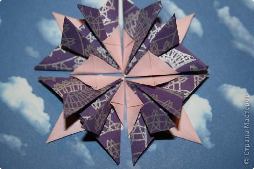 Вот такие звезды-снежинки получились фото 2