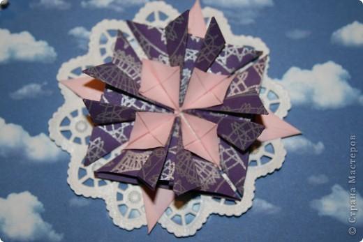 Вот такие звезды-снежинки получились фото 3