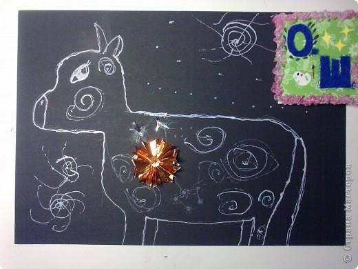 """Это звезда Альдебаран, как я её вижу. Красная звезда, это мой любимый цвет. Настоящая звезда относится к гигантам, её название означает """"последователь"""". А еще её называли Лампарус, это значит """"маяк, факел"""". Моя звёздочка выполнена из 8 модулей """"шаттл"""" и 4 модулей """"звездолет"""" . Еще я прочитала, что к звезде Альдебаран отправлен беспилотный корабль, но он прилетит к ней только через 2 миллиона лет! фото 3"""