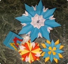 """Звезда """"Голубой костёр"""" 8 модулей """"Ракета"""" 8 модулей """"Крылья"""" 8 модулей """"Стрела"""" В моём созвездии Скорпион есть  одна из ярчайших звёзд Антарес, а у неё горячая голубая звезда-компаньон Антарес В. фото 5"""