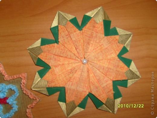 Для начала я поучился делать модули и складывать предложенные звезды. Мне понравилось и я сделал еще несколько звезд. фото 5