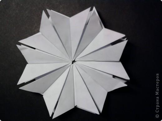 """Полярная звезда В своей работе я использовал технику """" Шатл"""" из 8 модулей. фото 1"""