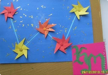 """1. Тренировочный полёт. Моя звезда. Звезду собирала из 12 модулей """"Крылья"""" и 16 модулей """"Стрела"""". А зовут мою звезду """"Каролина"""".  фото 2"""