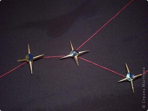 """1.Тренировочный полёт «Моя звезда».  Свою звезду я хочу подарить всем людям планеты. Это звезда по имени """"Счастье"""". Она волшебная. Все, кто будет видеть мою звёздочку, будут становиться счастливыми. Я хочу, чтобы моя звезда принесла всем много счастья.  Она состоит из 6 модулей «шатл», 6 модулей «крылья», 12 модулей «Ракета».  фото 6"""