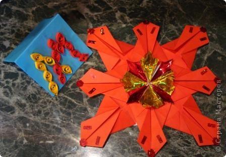 """Звезда """"Голубой костёр"""" 8 модулей """"Ракета"""" 8 модулей """"Крылья"""" 8 модулей """"Стрела"""" В моём созвездии Скорпион есть  одна из ярчайших звёзд Антарес, а у неё горячая голубая звезда-компаньон Антарес В. фото 6"""