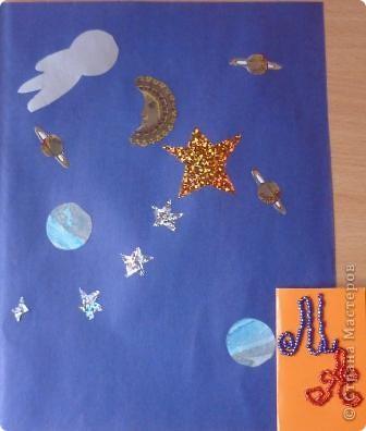 """Сначала я училась делать звёзды из одинаковых модулей. Эта звезда из 4 модулей """"Крылья"""". фото 6"""