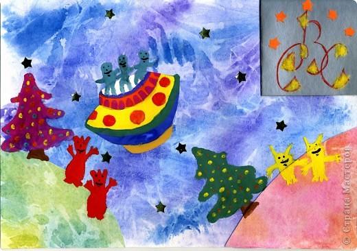 """Тема 1. Тренировочный полёт. Моя звезда Свои звезды я назвала ВЕРА, НАДЕЖДА и ЛЮБОВЬ в честь моих бабушек. Они родные сестры. Бабушки похожи друг на друга, но и различаются характерами. Поэтому для всех звезд я использовала модули """"шаттл"""",  """"стрела"""" и базовую форму """"птица"""". фото 8"""