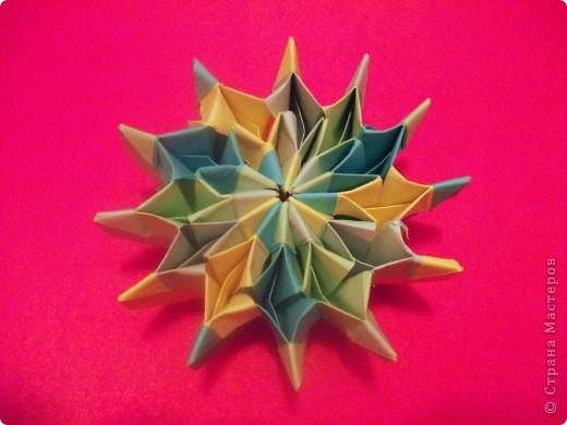 Тема 3. Новый год в космосе Хотелось, чтоб на столе было много конфет, и я решил сделать конфетницу в виде звезды.  фото 21