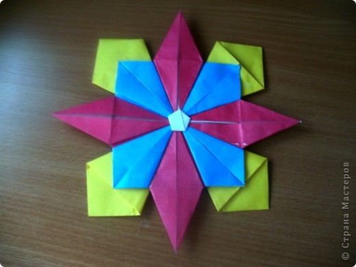 Тема 3. Новый год в космосе Хотелось, чтоб на столе было много конфет, и я решил сделать конфетницу в виде звезды.  фото 13