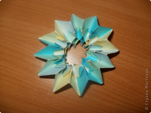 Тема 3. Новый год в космосе Хотелось, чтоб на столе было много конфет, и я решил сделать конфетницу в виде звезды.  фото 19