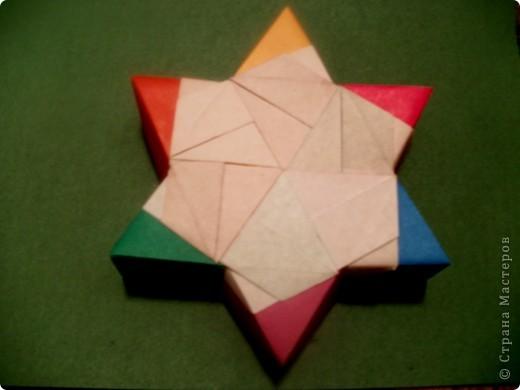 Тема 3. Новый год в космосе Хотелось, чтоб на столе было много конфет, и я решил сделать конфетницу в виде звезды.  фото 3