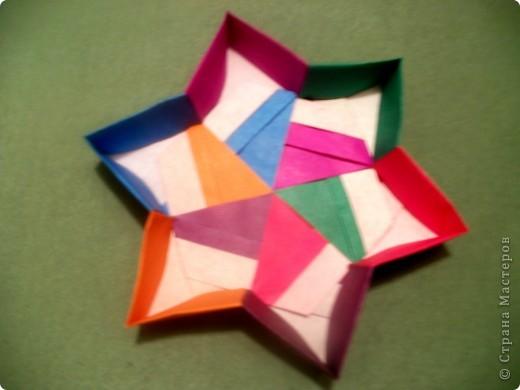 Тема 3. Новый год в космосе Хотелось, чтоб на столе было много конфет, и я решил сделать конфетницу в виде звезды.  фото 5