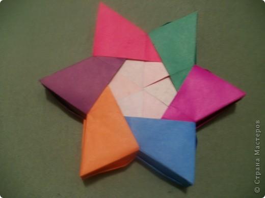 Тема 3. Новый год в космосе Хотелось, чтоб на столе было много конфет, и я решил сделать конфетницу в виде звезды.  фото 4