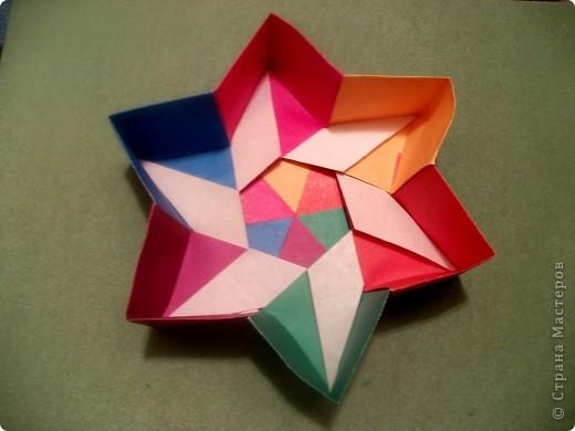Тема 3. Новый год в космосе Хотелось, чтоб на столе было много конфет, и я решил сделать конфетницу в виде звезды.  фото 2