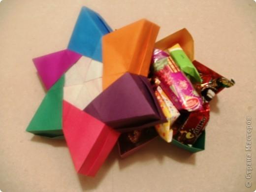 Тема 3. Новый год в космосе Хотелось, чтоб на столе было много конфет, и я решил сделать конфетницу в виде звезды.  фото 6