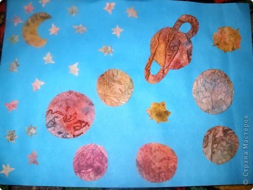 Тема 3. Новый год в космосе Хотелось, чтоб на столе было много конфет, и я решил сделать конфетницу в виде звезды.  фото 10