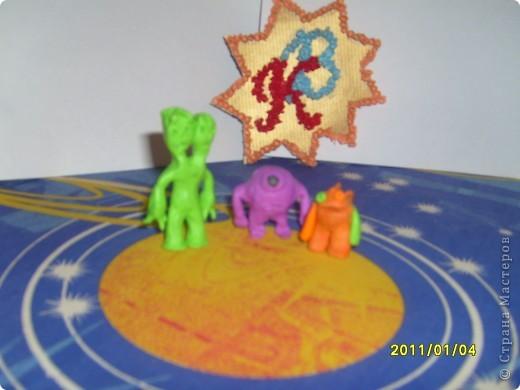 Для начала я поучился делать модули и складывать предложенные звезды. Мне понравилось и я сделал еще несколько звезд. фото 12