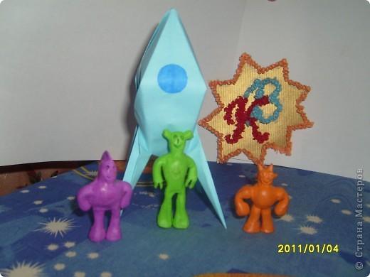Для начала я поучился делать модули и складывать предложенные звезды. Мне понравилось и я сделал еще несколько звезд. фото 13