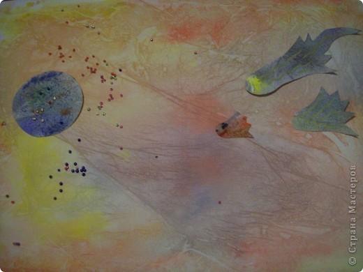 """Вот мое первое задание. Это моя первая звезда. При ее изготовлении я использовала модули """"Крылья"""", """"Шаттл"""", """"Ракета"""" (всех взяла по 4 шт.). Называется моя звезда """"Мудрая"""". она дарит людям знания и на своих волшебных лучиках рассылает им таланты. фото 13"""