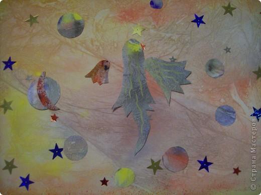 """Вот мое первое задание. Это моя первая звезда. При ее изготовлении я использовала модули """"Крылья"""", """"Шаттл"""", """"Ракета"""" (всех взяла по 4 шт.). Называется моя звезда """"Мудрая"""". она дарит людям знания и на своих волшебных лучиках рассылает им таланты. фото 17"""