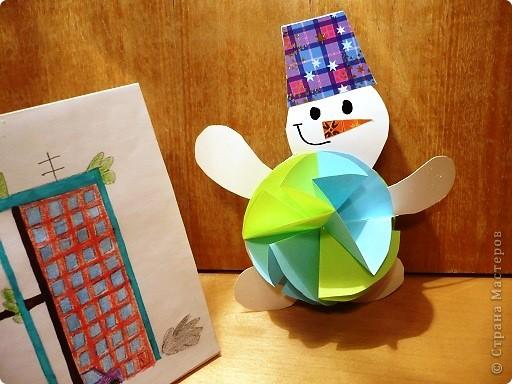 Случилась  эта история новогодним вечером.    Дед Мороз  закончил разносить детям подарки и  уставший возвращался домой, мечтая  о чем то о своем. Вдруг с неба упала звезда, с начала одна , потом еще одна. фото 6