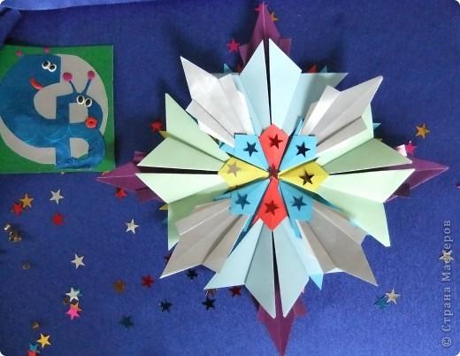 """Звезда называется """"Удача"""". Состоит из 8 модулей """"Крылья"""", 4 модулей """"Шаттл"""" и 8 модулей """"Ракета"""". фото 1"""