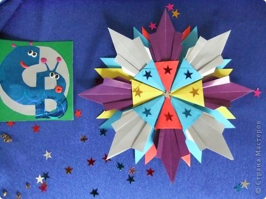 """Звезда называется """"Удача"""". Состоит из 8 модулей """"Крылья"""", 4 модулей """"Шаттл"""" и 8 модулей """"Ракета"""". фото 2"""
