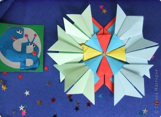 """Звезда называется """"Удача"""". Состоит из 8 модулей """"Крылья"""", 4 модулей """"Шаттл"""" и 8 модулей """"Ракета"""". фото 3"""