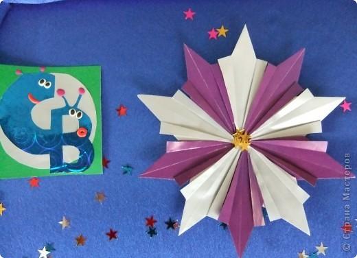 """Звезда называется """"Удача"""". Состоит из 8 модулей """"Крылья"""", 4 модулей """"Шаттл"""" и 8 модулей """"Ракета"""". фото 5"""