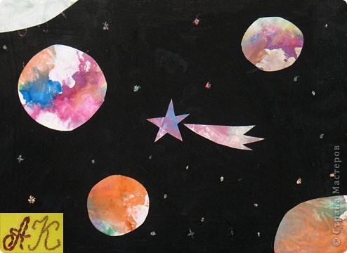 """Тренировочный полёт. Моя звезда. Звезда """"Аврора"""" - звезда утренней зари. Она состоит из 4 модулей """"Ракета"""" и 4 модулей """"Звездолет"""". фото 6"""