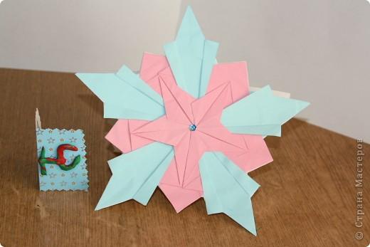 Тема 1. Эта звезда сделана из 5 модулей комета и 5 модулей ракета. фото 1