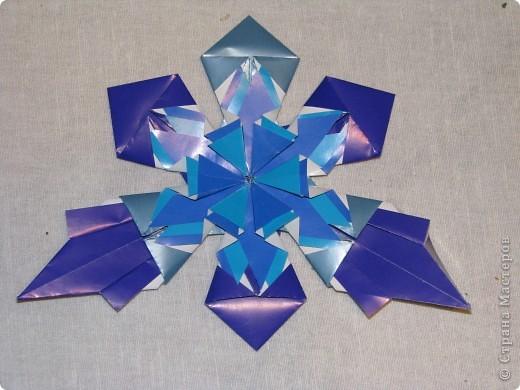 """Звезда """"Холодная""""  изготовлена из 15 модулей """"Звездолет"""" и 8 """"Стрела"""" фото 3"""