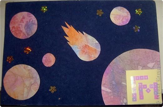 """Моя звезда. Я сконструировала свою звезду из модулей """"Ракета"""" (голубого цвета 4 шт.), """"Крылья"""" и """"Стрела"""" (синего цвета по 4 шт.), """"Шаттл"""" (оранжевого и белого цвета по 4 шт.). фото 4"""