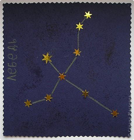 Созвездие лебедь поделки